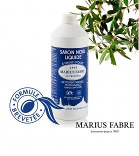 Marius Fabre法鉑橄欖油黑肥皂(1000ml)