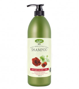 潔芬-植萃強韌洗髮凝露/玫瑰/保濕型(1000ml)