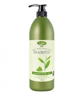 潔芬-植萃強韌洗髮凝露/綠茶/保濕型(1000ml)
