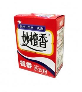 妙檀香超濃縮洗衣粉(1公斤/盒)