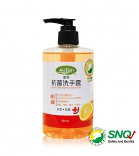 潔芬-抗菌洗手露/柑橘(350ml)