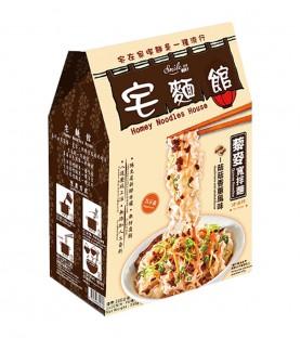 纖莉子-菇菇香蔥藜麥寬拌麵(321g)