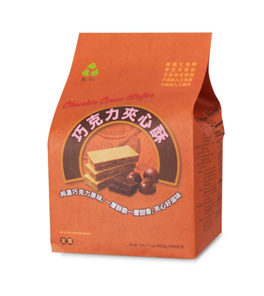 里仁-巧克力夾心酥(400g)