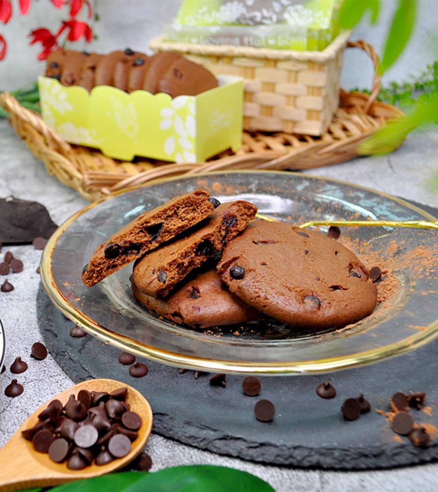 愛家食華-巧克力餅乾(170g/9入)