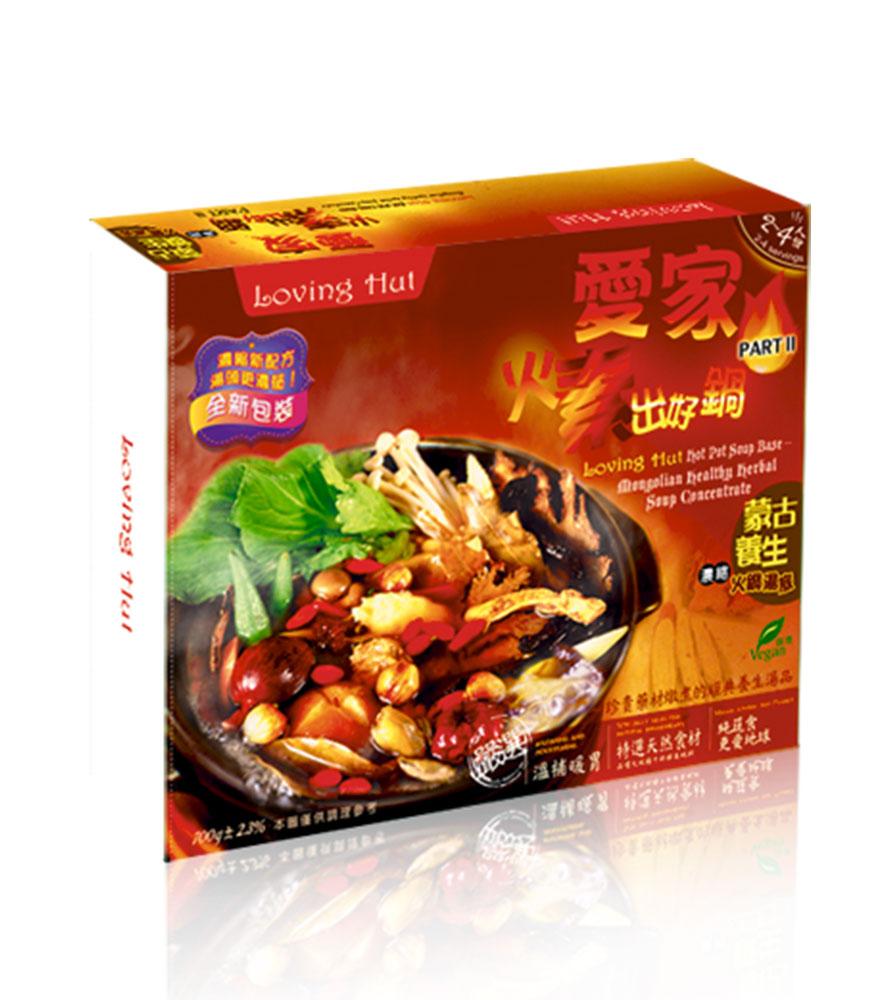 愛家食華-蒙古養生濃縮火鍋湯底(700g)