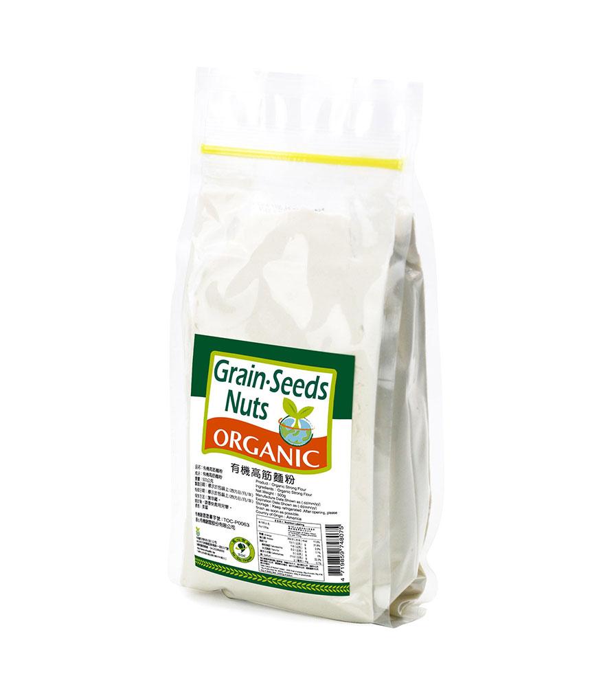 康健生機-有機高筋麵粉(500g)