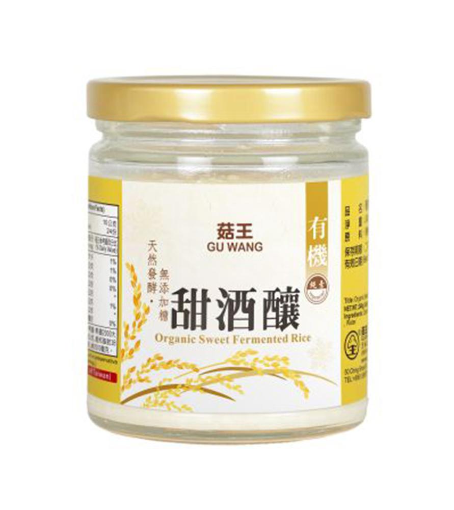 菇王-有機甜酒釀(240g)