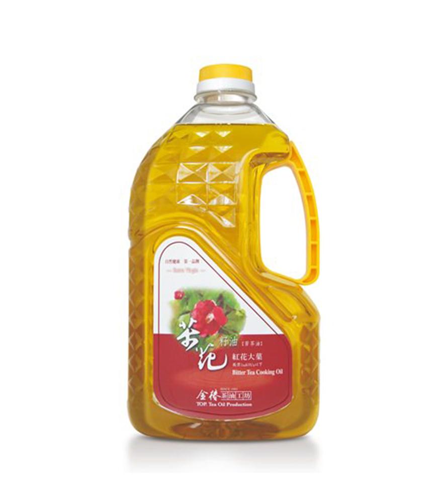 金椿茶油工坊-紅花大菓茶花籽油(1800ml )