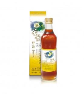 金椿茶油工坊-茶葉綠菓茶花籽油(500ml )