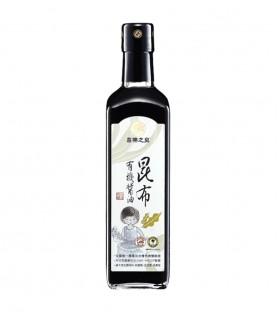 喜樂之泉-有機昆布醬油(500ml)