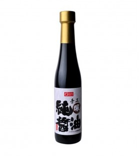 康健生機-手工純釀醬油(400ml)