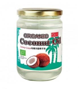 康健生機-Sunny Coco有機冷壓椰子油(500ml)