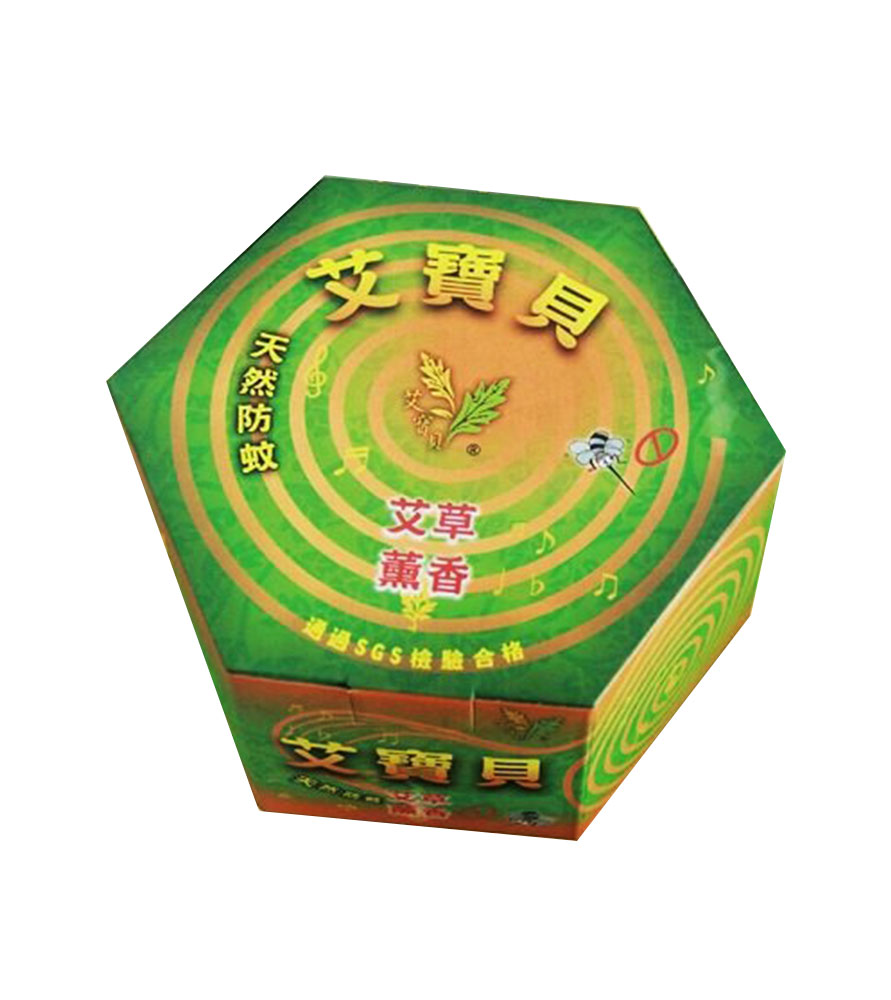 艾寶貝艾草薰香天然防蚊(30片/盒)