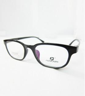 TR90-全黑(亮面)輕盈韓國技術設計眼鏡