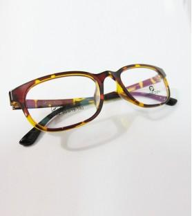 TR90-琥珀色(亮面)輕盈韓國技術設計眼鏡