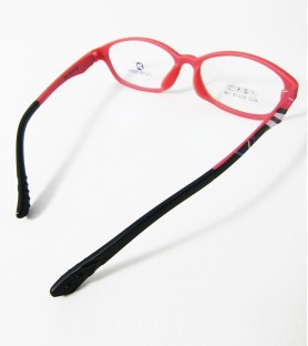 TR90-紅色(霧面)輕盈韓國技術設計眼鏡