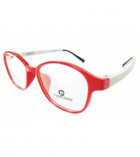 TR90-紅色(亮面)輕盈韓國技術設計眼鏡