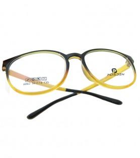 TR90-黃色(亮面)輕盈韓國技術設計眼鏡