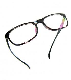 TR90-黑色(亮面)輕盈韓國技術設計眼鏡