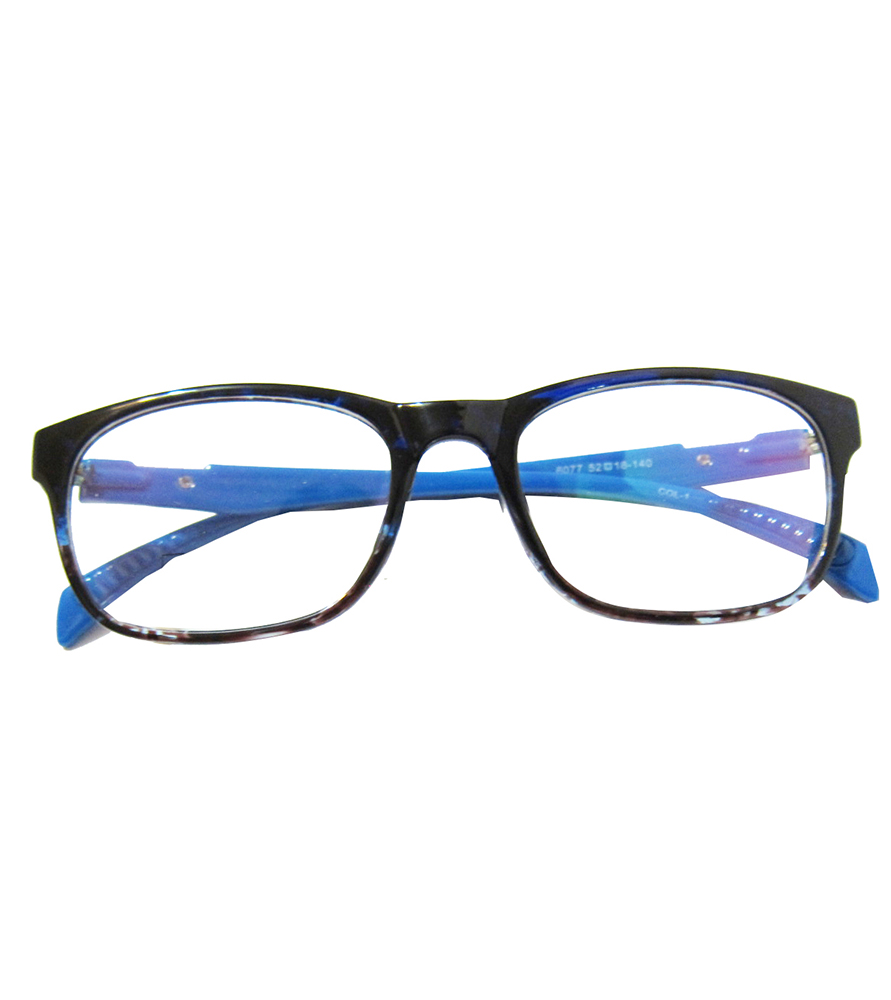 TR90-藍色(亮面)輕盈韓國技術設計眼鏡