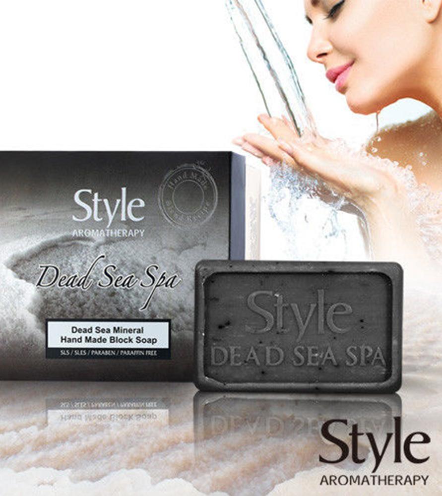 Style以色列黑色奇蹟死海手工皂