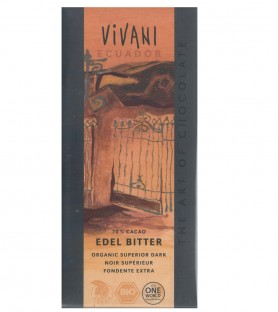 VIVANI有機厄瓜多70%黑巧克力片