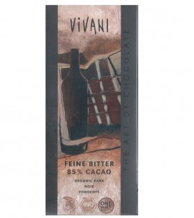 Vivani有機純85%黑巧克力片