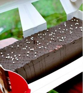 愛家食華-濃情脆皮巧克力糕(450g)